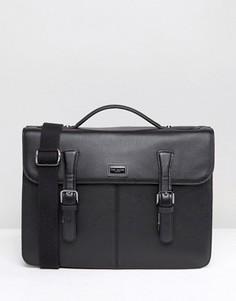 Кожаный портфель Ted Baker - Черный