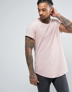 Длинная футболка с круглым вырезом G-Star Vontoni - Розовый