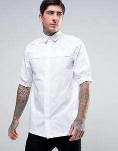 Рубашка скинни с эластичными манжетами Rogues Of London - Белый