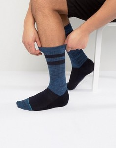 Темно-синие носки в полоску Stance Domain - Темно-синий