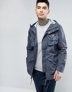 Парка в стиле милитари adidas Originals - Синий
