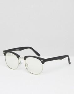 Очки в стиле ретро Jeepers Peepers - Коричневый