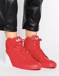 Красные кроссовки Adidas Zestra - Красный