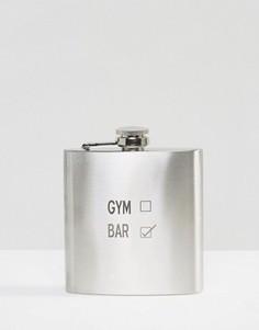 Плоская фляжка Gym/Bar - Мульти Gifts