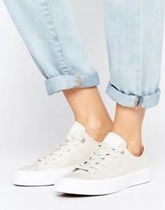 Кремовые кожаные кроссовки Converse Chuck Ii - Мульти