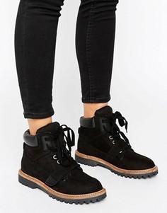 Ботинки на шнуровке ALDO - Черный
