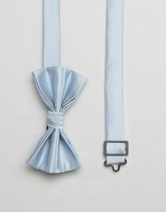 Синий галстук-бабочка ASOS WEDDING - Синий