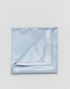 Голубой платок для нагрудного кармана ASOS WEDDING - Синий