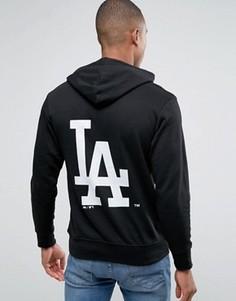 Худи с принтом на спине Majestic L.A. Dodgers - Черный