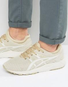 Бежевые кроссовки Asics Gel-Kayano Evo H742N 0202 - Бежевый