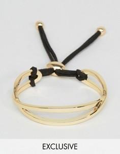 Золотистый браслет DesignB London - Золотой