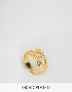 Кольцо с перьями Ottoman Hands - Золотой