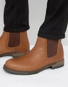 Кожаные ботинки челси Red Tape - Коричневый
