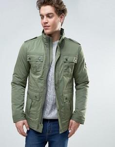 Куртка в стиле милитари Tommy Hilfiger - Зеленый