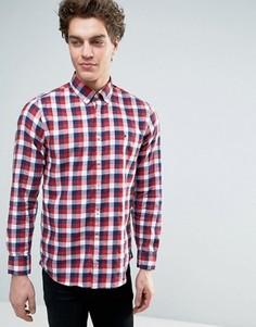 Рубашка в клеточку Tommy Hilfiger - Красный