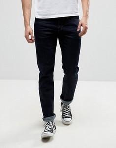 Темные прямые джинсы Calvin Klein Jeans - Синий