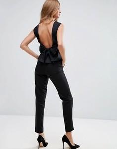 Укороченные брюки Millie Mackintosh Lava - Черный