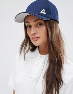 Темно-синяя кепка с логотипом Le Coq Sportif - Синий