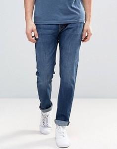 Светлые прямые джинсы Threadbare - Синий