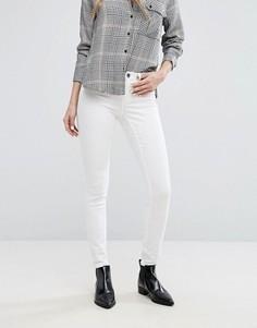 Зауженные джинсы с классической талией J.D.Y - Белый JDY