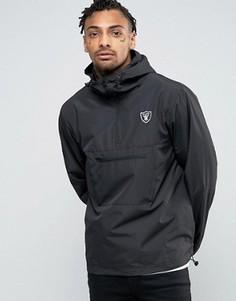 Куртка через голову с логотипом клуба Raiders от New Era - Черный