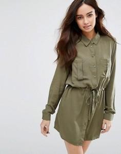 Платье со шнурком JDY - Зеленый