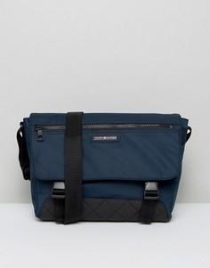 Нейлоновая сумка Tommy Hilfiger - Темно-синий