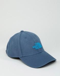 Синяя бейсболка с классическим логотипом The North Face - Синий