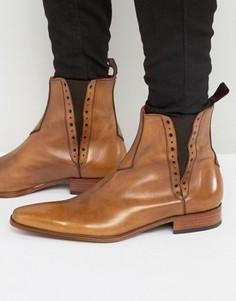 Кожаные ботинки челси Jeffery West Yardbird - Рыжий