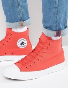Красные кеды Converse Chuck Taylor All Star II - Красный