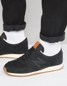 e5a39e5f Черные кроссовки в стиле 70-х New Balance Running 420 U420NKT - Черный