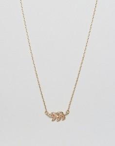Ожерелье с подвеской DesignB London - Золотой