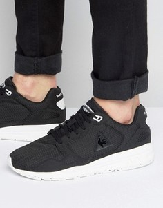 Черные кроссовки с жаккардовой отделкой Le Coq Sportif R900 1710110 - Черный