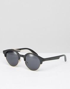 Солнцезащитные очки в стиле ретро AJ Morgan - Черный