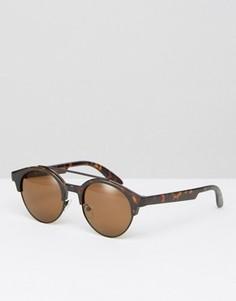Солнцезащитные очки в стиле ретро AJ Morgan - Коричневый