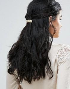 Заколка для волос в винтажном стиле DesignB - Золотой