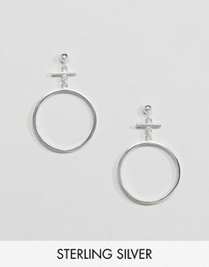 Серебряные серьги ASOS - Серебряный