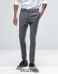 Супероблегающие брюки Noak - Серый