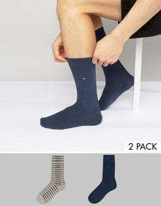 2 пары носков в полоску Tommy Hilfiger Fast Track - Мульти