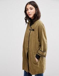 Куртка на пуговице Girls On Film - Зеленый