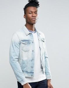 Светлая джинсовая куртка Pepe Jeans - Синий