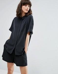 Рубашка Weekday Casy - Черный