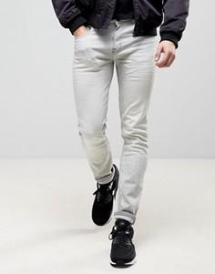 Эластичные зауженные мраморные джинсы Loyalty and Faith - Серый
