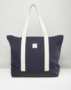 Темно-синяя дорожная сумка Jack Wills - Темно-синий