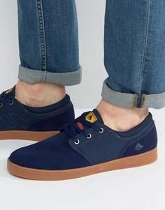 Темно-синие кроссовки Emerica Figueroa - Синий