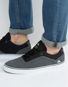 Черные кроссовки Emerica Herman - Черный
