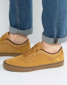 Светло-коричневые кроссовки Emerica Herman - Бежевый