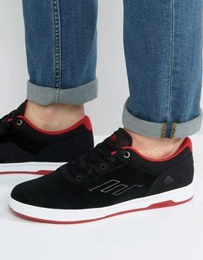 Черные кроссовки Emerica Westgate - Черный