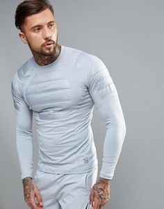 Серый свитшот Nike Training Aeroloft 802037-012 - Серый