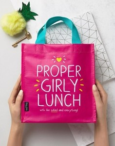 Сумка для обеда с надписью Girly Happy Jackson - Мульти
